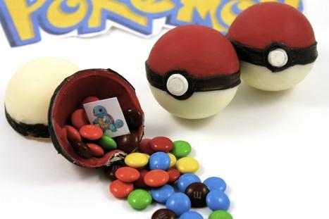 How to Make Candy Pokemon Pokeballs • CakeJournal.com | Ara exploration | Scoop.it