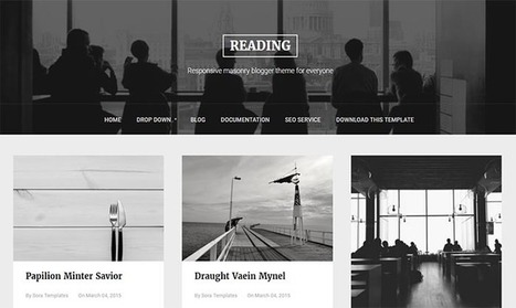 Reading Blogger Template | Pro Templates Lab | Scoop.it