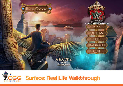 Surface: Reel Life Walkthrough: From CasualGameGuides.com | Casual Game Walkthroughs | Scoop.it