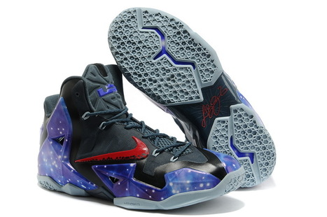 Pas cher Nike LeBron 11 Galaxy Coutume 131029-002 sur Vente | fashion | Scoop.it