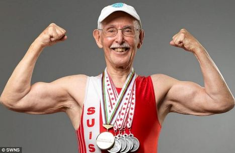 Is this the world's fittest pensioner? Retired dentist, 93, tackles gruelling competitions because he 'wanted to turn the heads of the sexy 70-year-old girls on the beach' | Longevity Strategies | Scoop.it