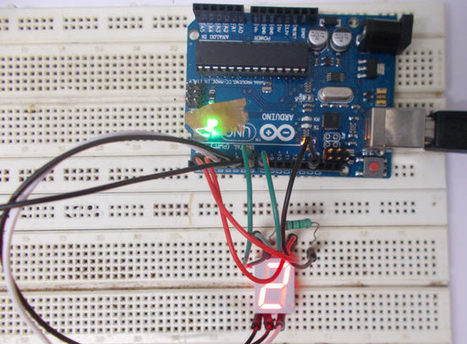 0-9 Counter by Interfacing 7 Segment Display with Arduino | Arduino Focus | Scoop.it