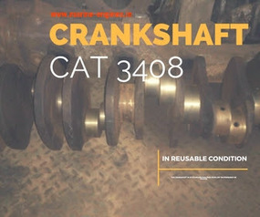 Crankshaft for CAT 3408 DI available | Marine Engines Motors and generators | Scoop.it