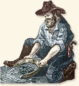 The California Gold Rush, 1849 | Historical Research Sites | Scoop.it