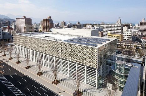 Shigeru Ban's latticed Oita Prefectural Art Museum opens in Japan | D_sign | Scoop.it