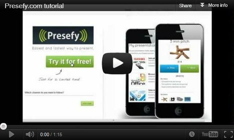 Presefy - the easiest and fastest way to present | Digital Presentations in Education | Scoop.it