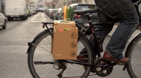 Architects Design Cardboard Carrier to Improve City Cycling | Digital Sustainability | Scoop.it