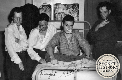 The Secret WWII Club That Healed Burned Pilots and Revolutionized Plastic Surgery - Gizmodo | World at War | Scoop.it