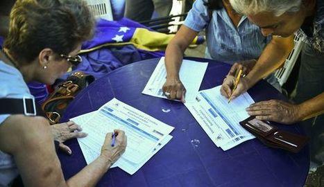 Venezuela: renvoyés pour avoir signé en faveur du référendum anti-Maduro | Venezuela | Scoop.it