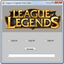 Free Riot Points Codes League of Legends July 2013 | Spor Haberleri | Scoop.it