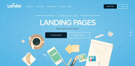 50 Fantastic Flat Web Designs from 2014 | Web Design | Scoop.it