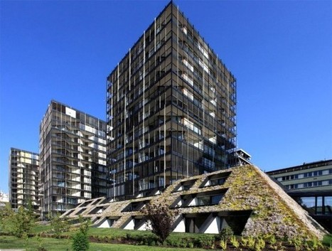 Prague's newest eco building and its impressive green roof | sustainable architecture | Scoop.it