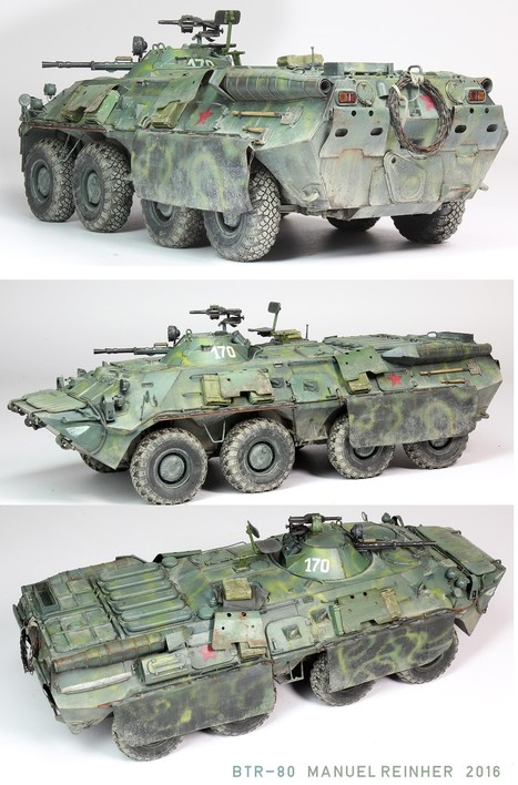 BTR-80 with some extras | Military Miniatures H.Q. | Scoop.it