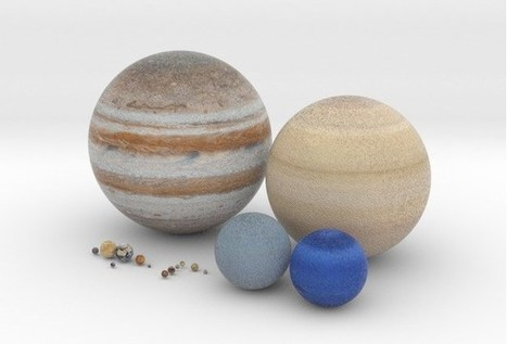 3D Printed Planetary Globes | GeoWeb OpenSource | Scoop.it