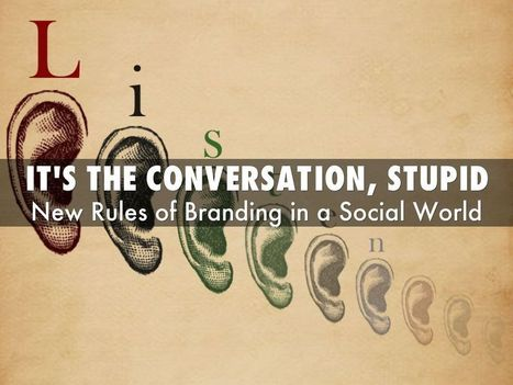Social Media: It's The conversation, Stupid - via @HaikuDeck | Social Marketing Revolution | Scoop.it