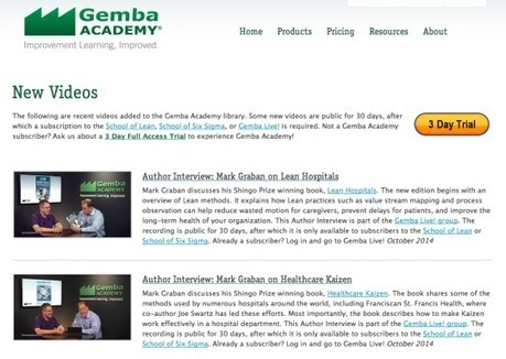 Gemba Academy Interviews on Lean Hospitals, Healthcare Kaizen, & KaiNexus | Lean Six Sigma Healthcare, Medical Device, and Pharma | Scoop.it