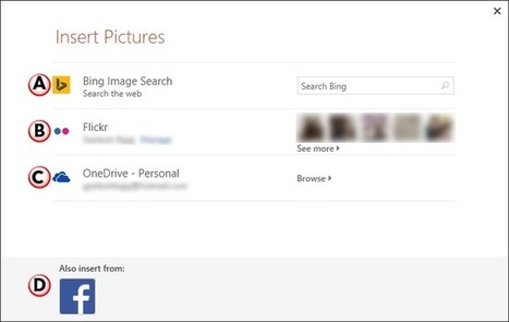Insert Online Pictures in PowerPoint 2013 | PowerPoint Tutorials | Scoop.it