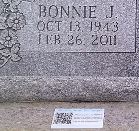 QR codes are appearing on (ready for this?) tombstones - Your Tech Weblog | QR-Code and its applications | Scoop.it