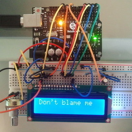 Arduino Excuse Generator | Arduino&Raspberry Pi Projects | Scoop.it