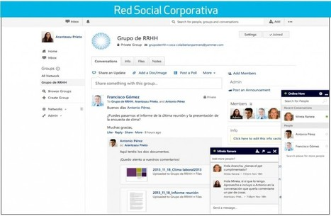Red Social Corporativa: ¿Cómo elegir la mejor plataforma? | Profesionales virtuales | Scoop.it