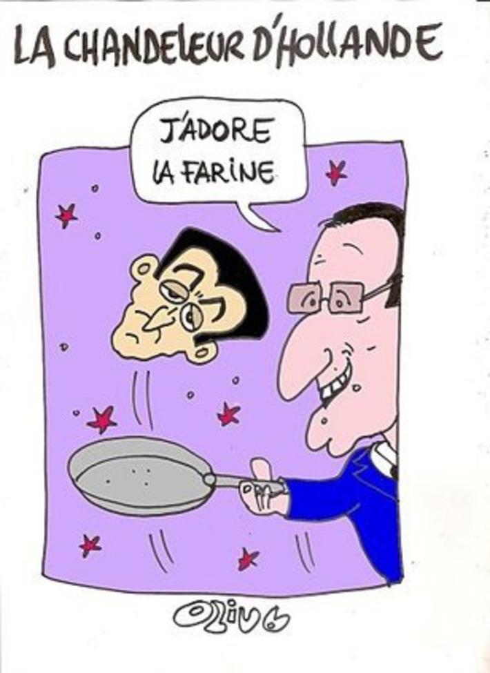 La chandeleur de François Hollande | Baie d'humour | Scoop.it