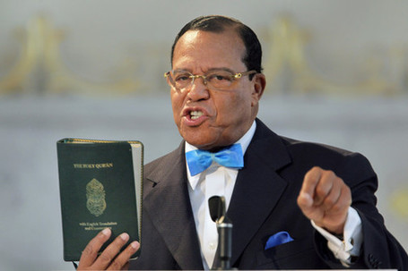 ayatollah obama's friend, Nation of Islam leader Louis Farrakhan trashes Jews in a Detroit Church, Democrat leaders in audience seen nodding in agreement | News You Can Use - NO PINKSLIME | Scoop.it
