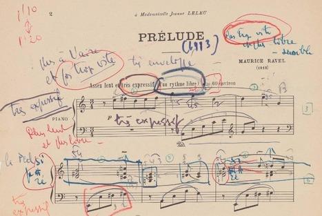 Maurice Ravel - Dans le domaine public en 2016 | La Musique en Médiathèque et ailleurs | Scoop.it
