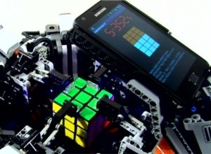 Lego Robot Beats Human Record For Solving the Rubik's Cube! | Robots and Robotics | Scoop.it