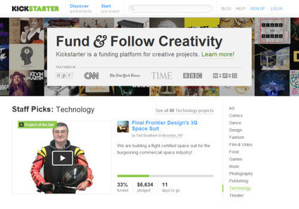 10 Crowdfunding Sites To Fuel Your Dream Project   Personas 2.0: #SocialMedia #Strategist   Scoop.it