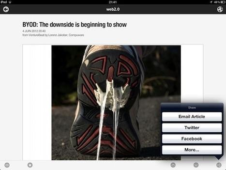 Newsify, un super client Google Reader pour votre iPad   François MAGNAN  Formateur Consultant   Scoop.it
