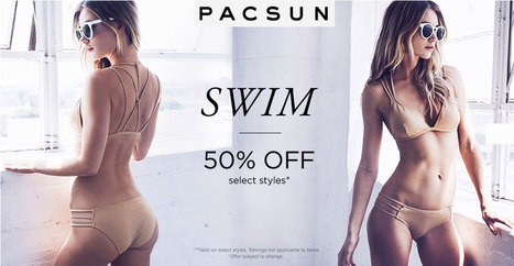 pacsun coupon code 50% off on women's swim markdowns | Interactive Content | Scoop.it