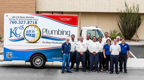 Emergency Plumbers CA   Immediate Installation & Repair Services   KC's 23 1/2 Hour Plumbing   Palm Springs Plumber   Scoop.it