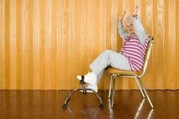 Chair Exercises for Seniors | Hyvinvointia senioreille | Scoop.it