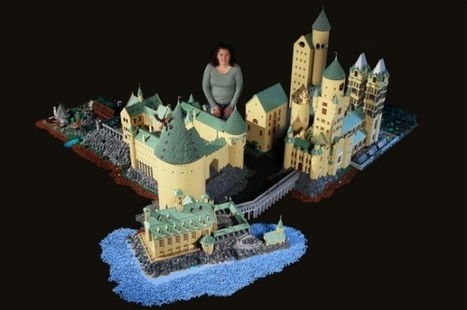 A mindblowing recreation of Hogwarts made using 400,000 Lego's | Geeks and Giggles | Scoop.it