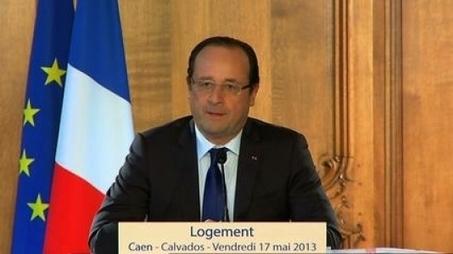 Discours du président de la République consacré au logement à Caen   Actualité de la politique française   Scoop.it