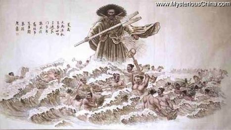 Chinese Myth Legend - Yu Controlled the Flood | CHINA Y SUS CREENCIAS POLITEÍSTAS Y MITOLOGICAS | Scoop.it