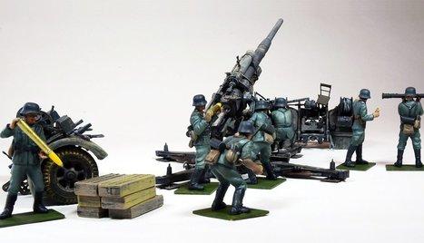 88mm Flak 37 | Military Miniatures H.Q. | Scoop.it