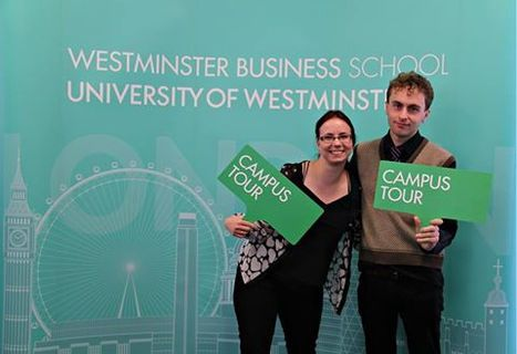Are you in London? An invite to come on a Campus Tour with Kasia and Joe | Welcome to Westminster Business School archive & editing platform | Scoop.it