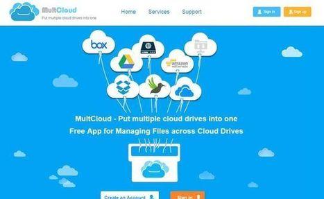 MultCloud: gestiona tus servicios de Cloud Storage desde un mismo sitio | Las TIC en el aula de ELE | Scoop.it