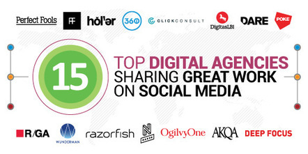 15 Top Digital Agencies Sharing Great Work On Social Media | The Twinkie Awards | Scoop.it