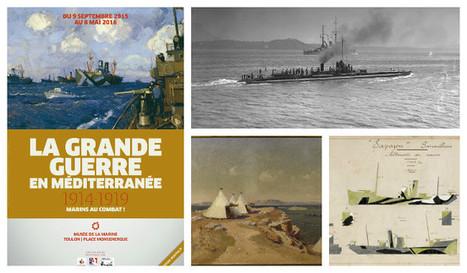 La Grande guerre en Méditerranée - Musée de la Marine | Centenaire Première Guerre mondiale - Académie de Rennes | Scoop.it