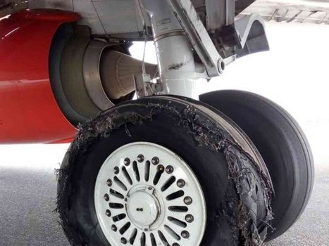 Burst Tyres-Flight delays as KQ plane bursts tyres shortly after landing from Entebbe | tyre news | Scoop.it