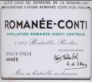 Romanée-Conti, Vosne-Romanée, 1955 | vente de vins entre particuliers | Prix de vente : 4 800,00 € | Annonces vin particuliers | Scoop.it