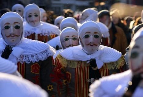 Carnaval de Binche : au cœur du ramassage des Gilles | Belgitude | Scoop.it