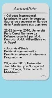 Sortie du numéro 5 de la revue Philosophical Enquiries consacré à John Dewey (I) – Revue des philosophies anglophones | Philosophie en France | Scoop.it