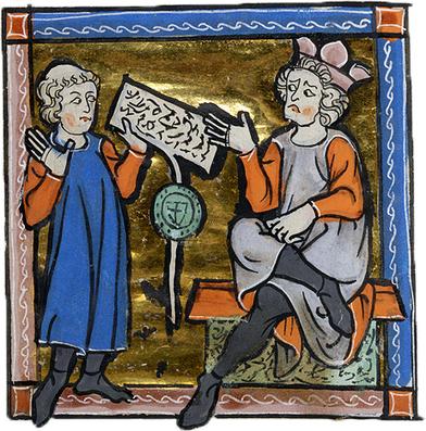 HISTOIRE> Le sceau dans l'enluminure | Monde médiéval | Scoop.it