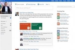 Comment le réseau social Yammer va s'intégrer à Office 365   Enterprise2.0   Scoop.it
