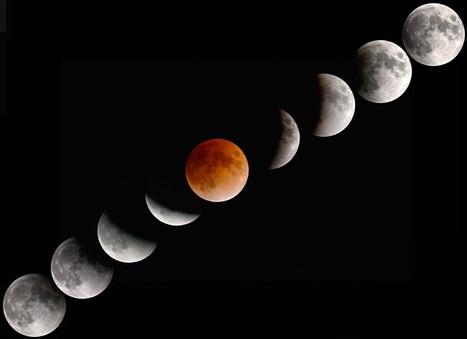 La ciencia es bella: ¿Cómo son los eclipses... desde la Luna? | Zientziak | Scoop.it