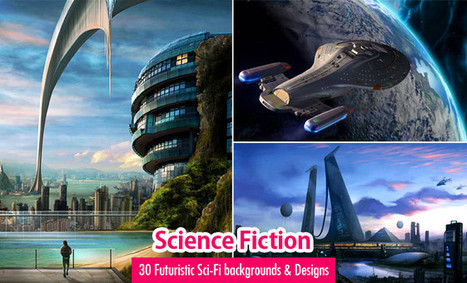 30 Futuristic Sci-Fi Backgrounds and Designs for your inspiration | Machinimania | Scoop.it