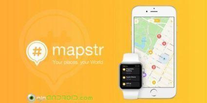 Ahora puedes guardar y compartir tus lugares preferidos en Mapstr para Android   Ojo Android   Scoop.it